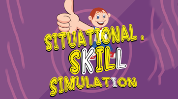 Situational skill simulation